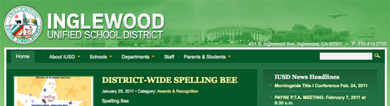 Inglewood Unified School District gets intergrated