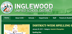 Inglewood Unified School District Homepage