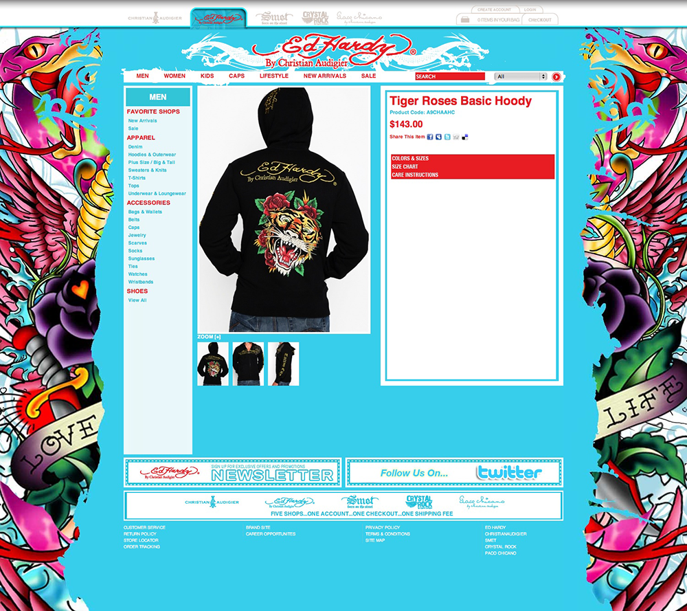 Ed Hardy Product Details