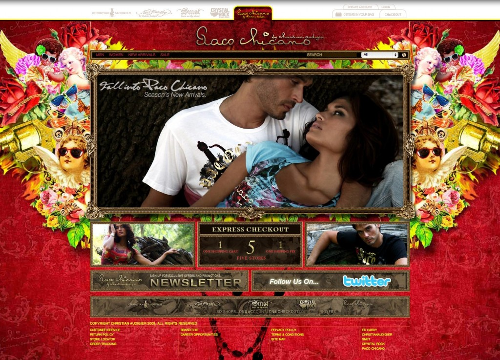 Christian Audigier Clothing Lines - Paco Chicano