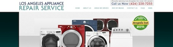 Los Angeles Appliance Repair Service