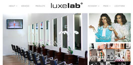 LuxeLab Salon About Page