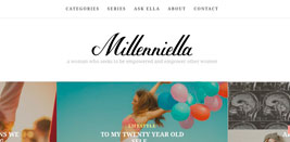 Millenniella Old Homepage