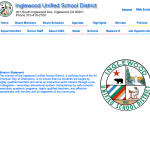 Original IUSD Website