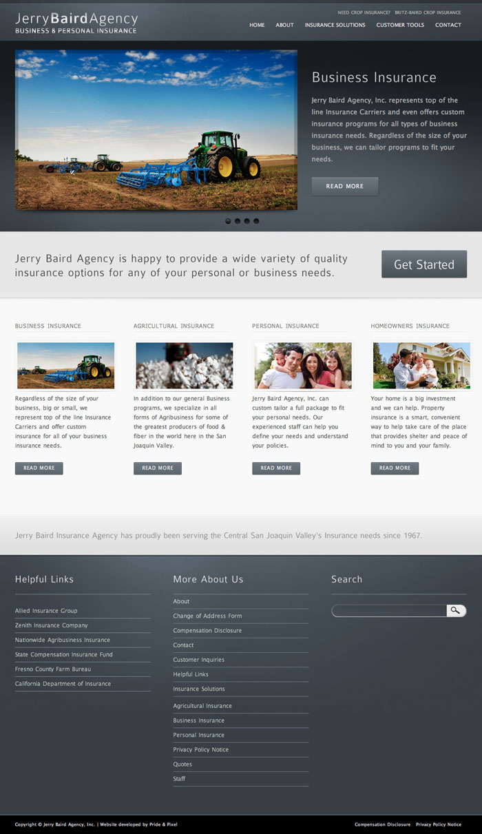 Jerry Baird Agency Homepage